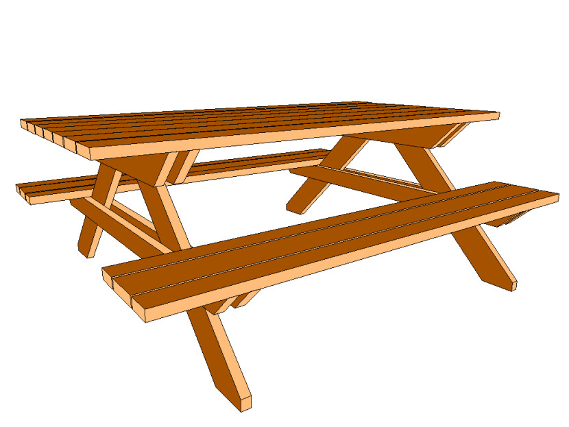 Family Picnic Table Clipart Free Clipart Images