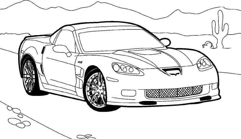 Fast Car Clipart Black And White