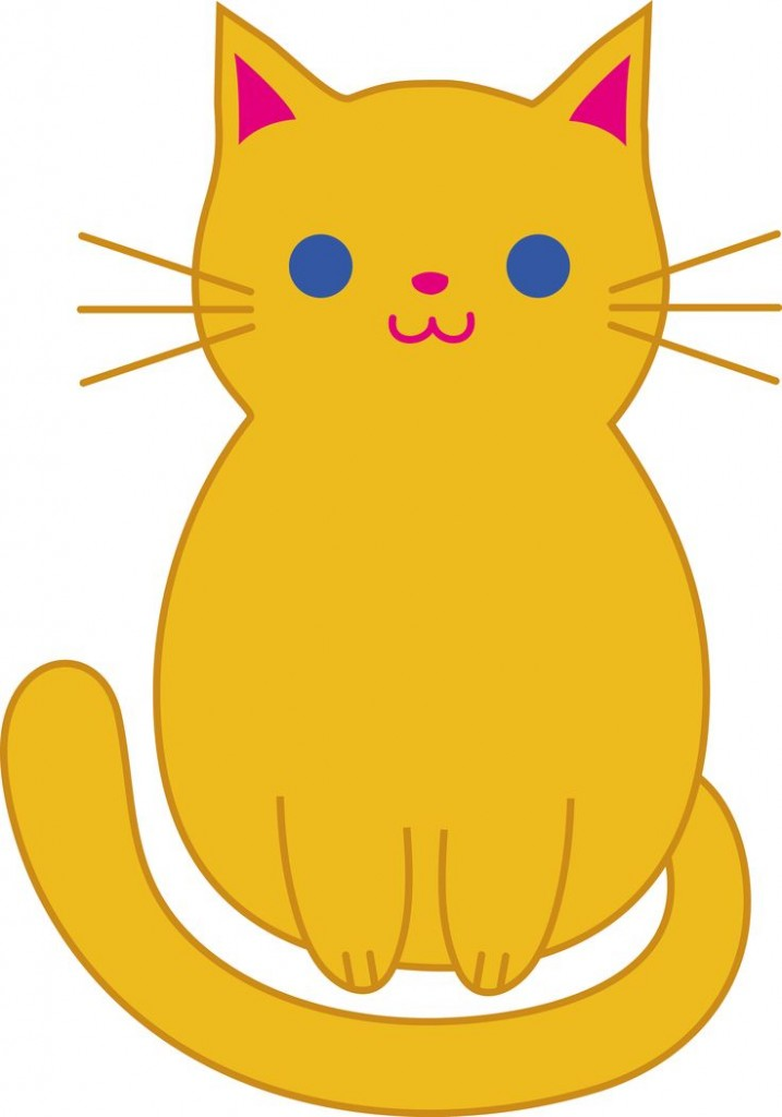 Fat Cat Clip Art Cute Orange Kitten Clip Art Cats Pinterest