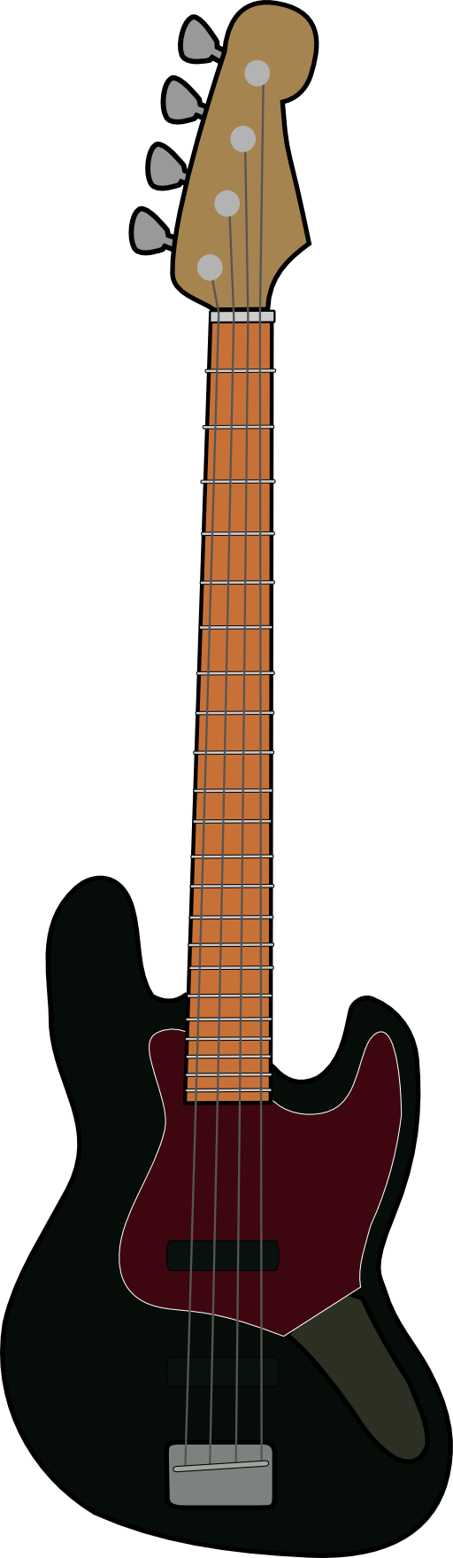 Fender Jazz Bass Clipart I2clipart Royalty Free Public Domain