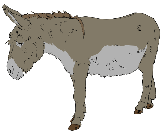 File Donkey Clipart Wikimedia Commons