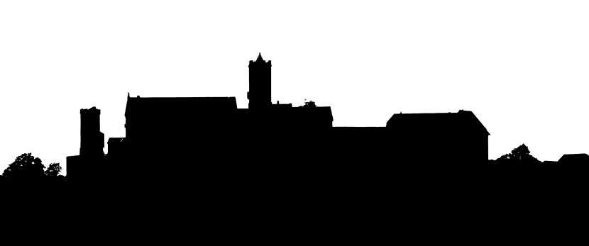 File Eisenach Germany Silhouette Of Wartburg Castle