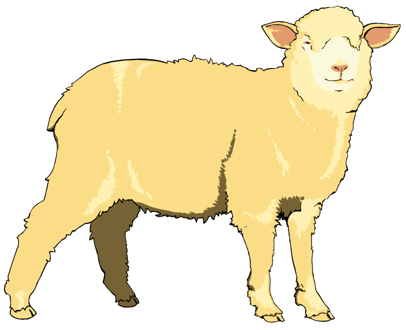 File Sheep Clipart Wikimedia Commons