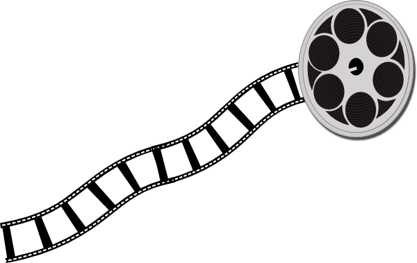 Film Reel Clipart Black And White