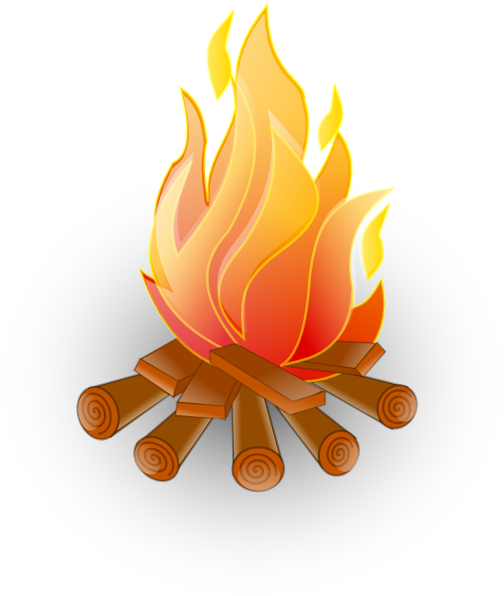 Fire 1 Clip Art At Vector Clip Art Online Royalty