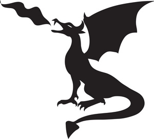 Fire Breathing Dragon Clip Art Free Clipart Free Clipart