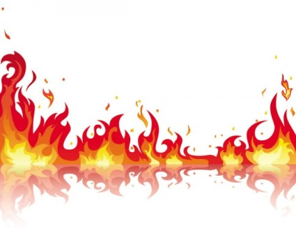 Fire Flames Border Free Clipart Free Clip Art Images