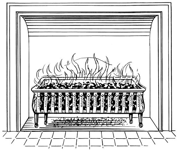 Fireplace Grate Household Fireplace