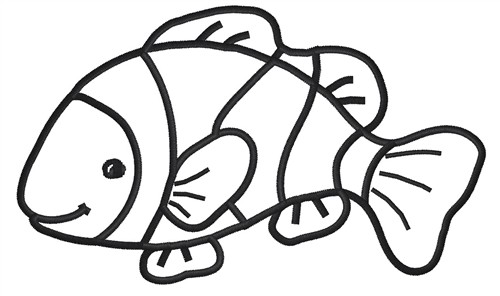 Fish Outline Clip Art - Clipartion.com