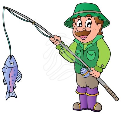 Fisherman Clip Art