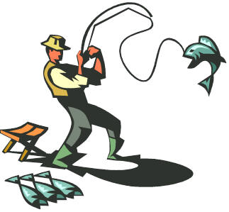 Fishing Clip Art Border Free Clipart Images