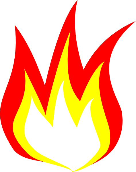 Flame Clip Art Free Free Clipart Images