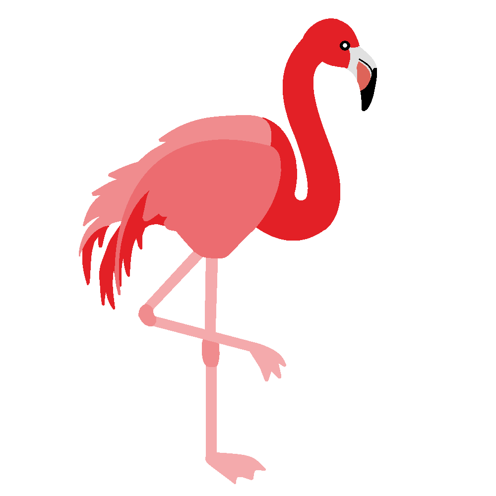Best Flamingo Clipart #6776 - Clipartion.com