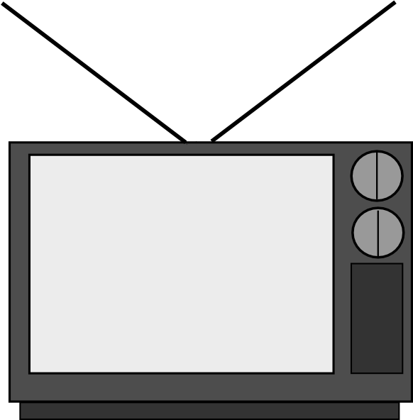 Flat Tv Clipart Free Clipart Images