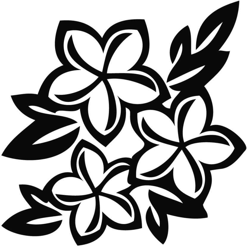 Flowers Clipart Black And White Free Clipart Images