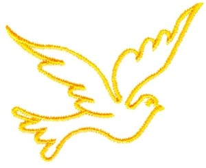 Flying Dove Outline Custom Embroidery Designsstitchitize