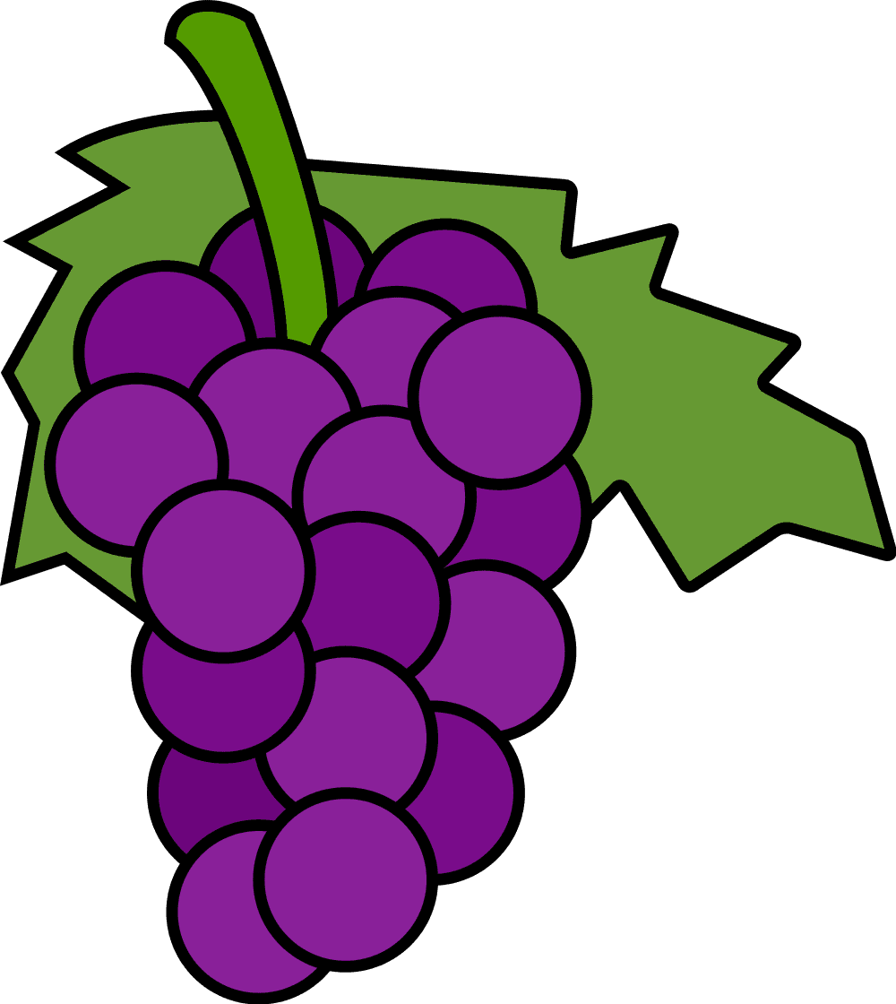 Best Grapes Clipart #13289 - Clipartion.com