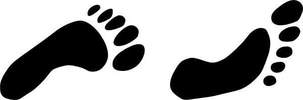 Foot walking-feet Prints Clip Art At Vector Clip Art Online