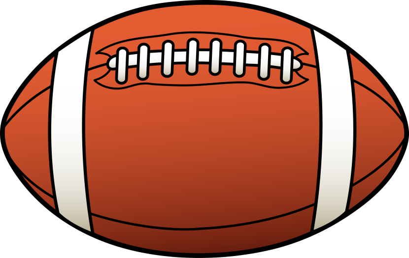 Football Ball Clipart Share Sports Info Clipart