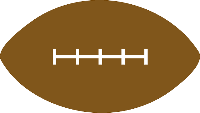 Football Brown Lace Ball Free Clipart Images