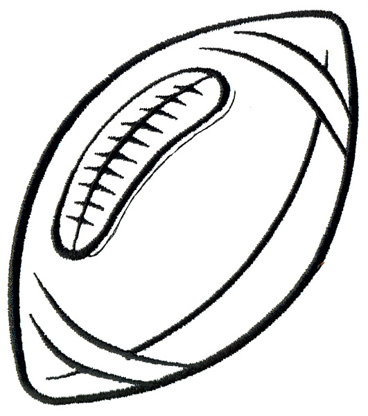Football Laces Clipart Black And White Basketballjpg Clipart