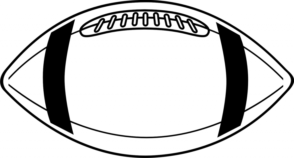 Football Outline Clip Art