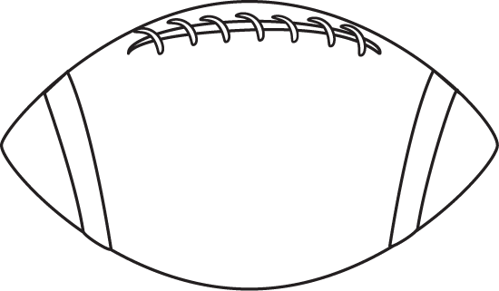 Football Outline Clipart Free Clip Art Images