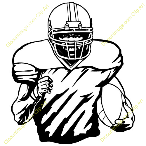 Football Player Clip Art Pictures Free Clipart