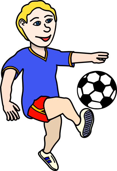 Football Player Cliparts