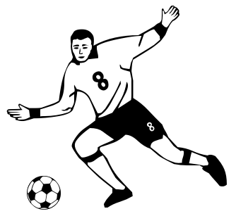 Football Players Clipart Free Clipart Images