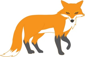 Fox animal Clipart
