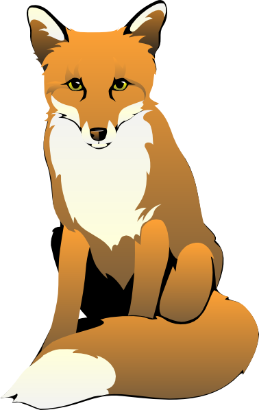 Fox cartoon Clipart