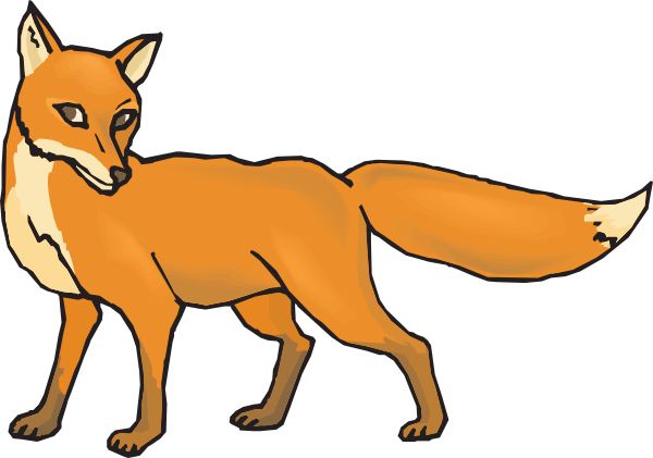 Best Fox Clipart 10912 Clipartion Com