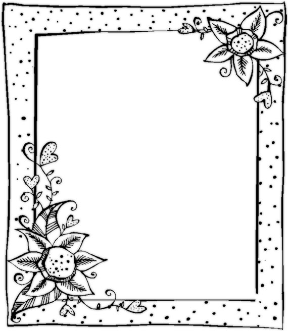 black and white borders clipartion com Music Clip Art Frame music clip art borders and frames