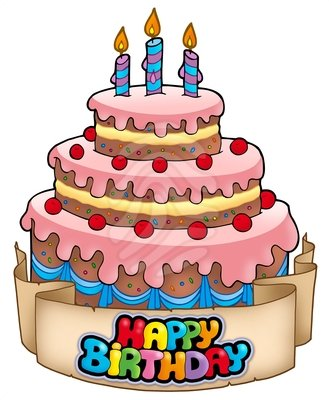 Birthday Cake Clipart 11695