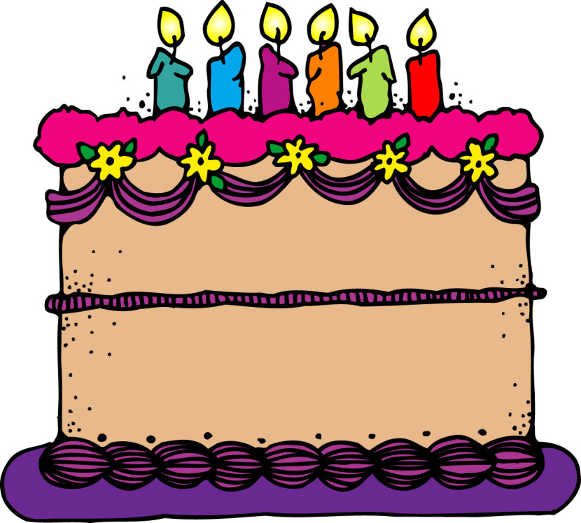 Birthday Clip Art And Free Birthday Graphics: Best Birthday Cake Clipart #11695