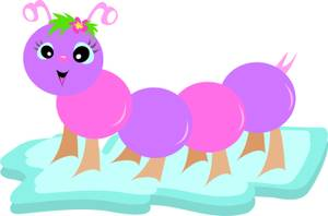 Free Cartoon Clipart Caterpillar