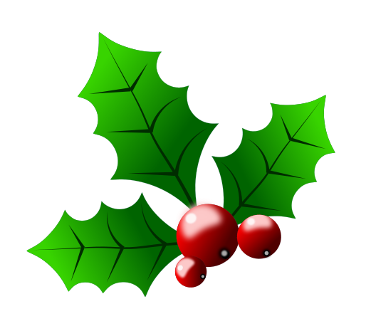 Free Christmas Clip Art Holly Free Clipart Images
