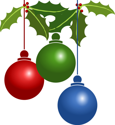 Free Christmas Ornaments Clipart Christmas Clip