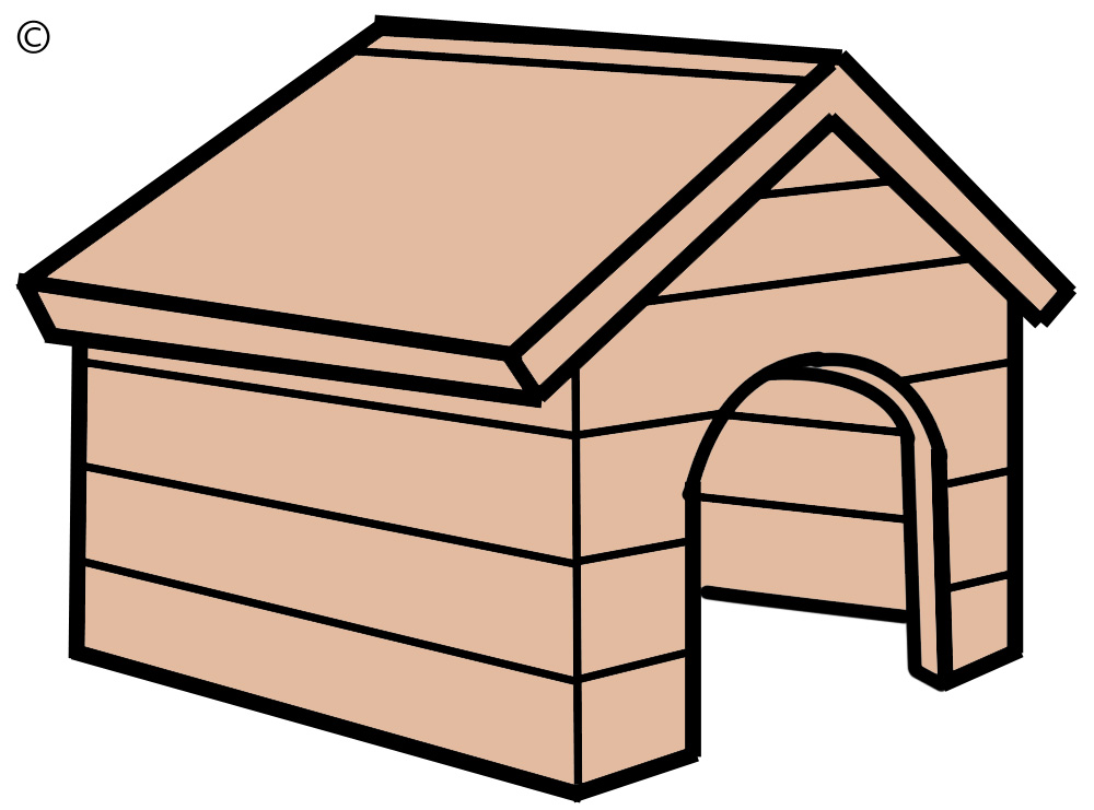 Best dog house clipart 17702 - Dog house images free ...