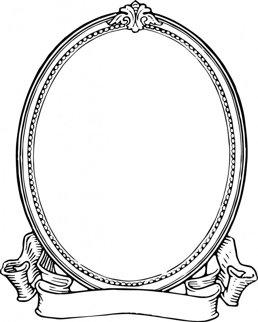 Free Clip Art Vintage Photo Frame Oh So Nifty Graphics