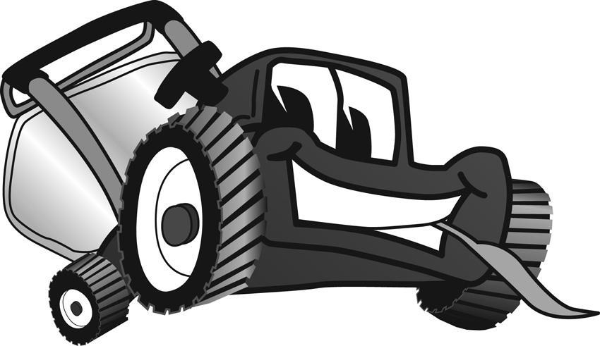 Commercial Lawn Mower Clipart