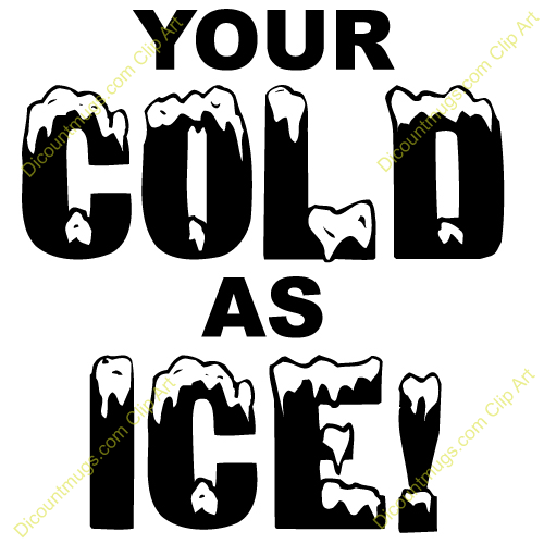 Free Cold As Ice Clipart Custom Clip Art