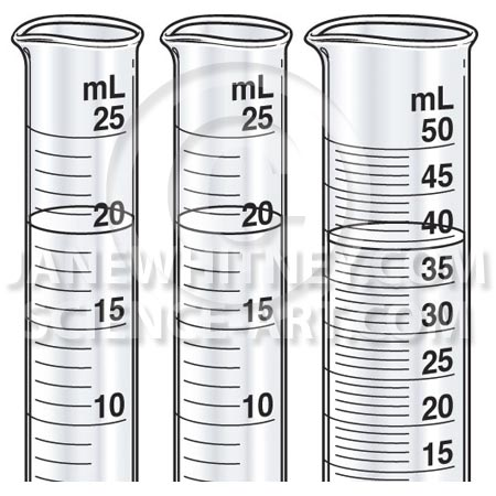 Free Coloring Pages Of Graduated Cylinder
