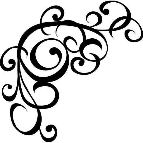 Free Coloring Pages Of Scroll Design