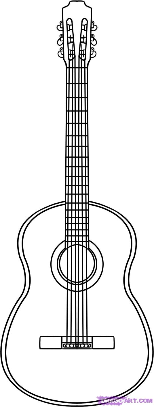 Best Guitar Outline 9482