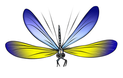 Free Dragonfly Clip Art 3