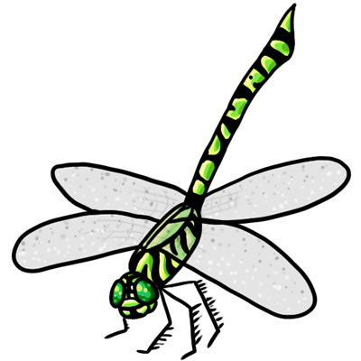 Free Dragonfly Clip Art