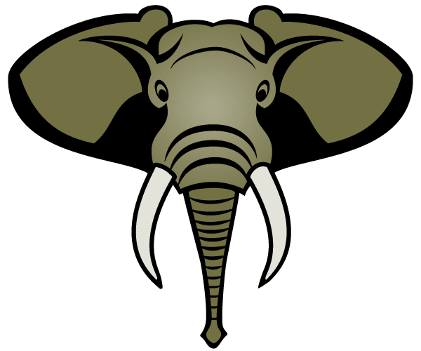 Free Elephant Head Vector Image Freevectors