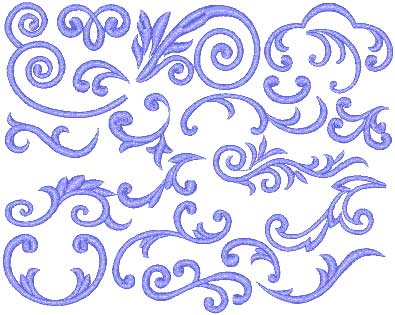 Free Embroidery Designs Scrolls 0 Beautiful Embroidery Designs